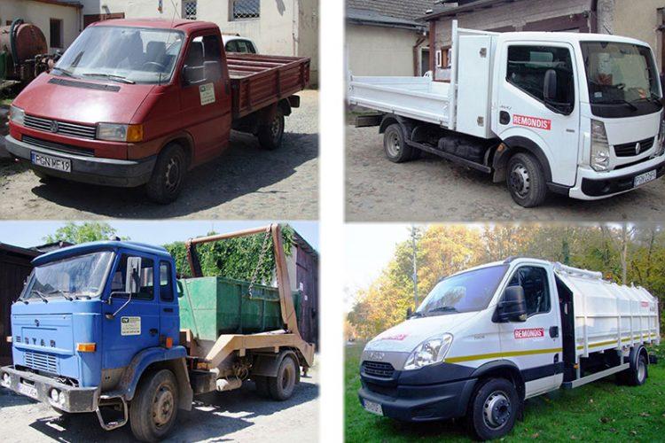 Stara inowa flota pojazdów